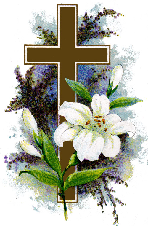 Beautiful clipart easter lily White of Page Easter Easter