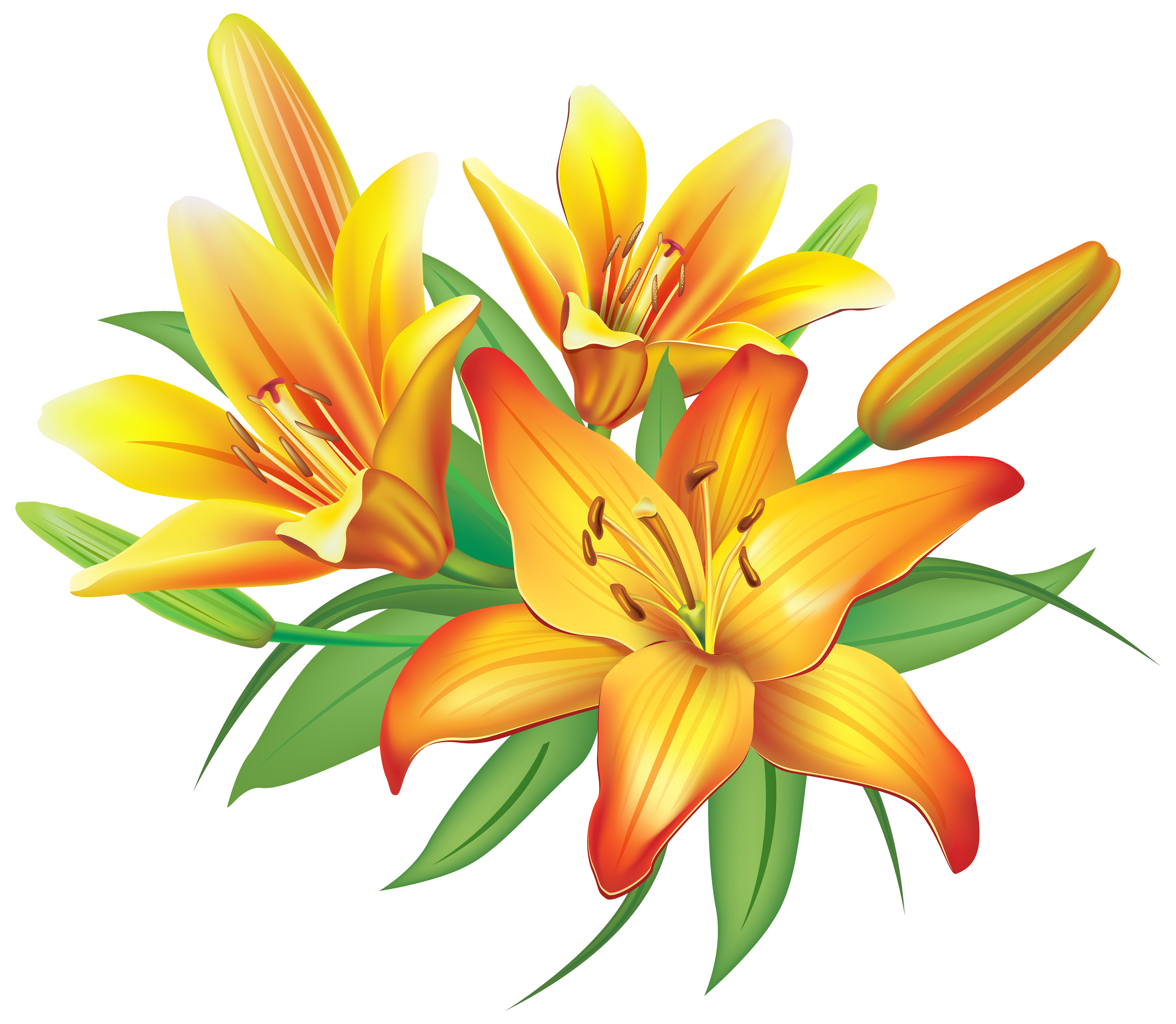 Yellow Flower clipart png format Clipart Red Transparent clipart flower