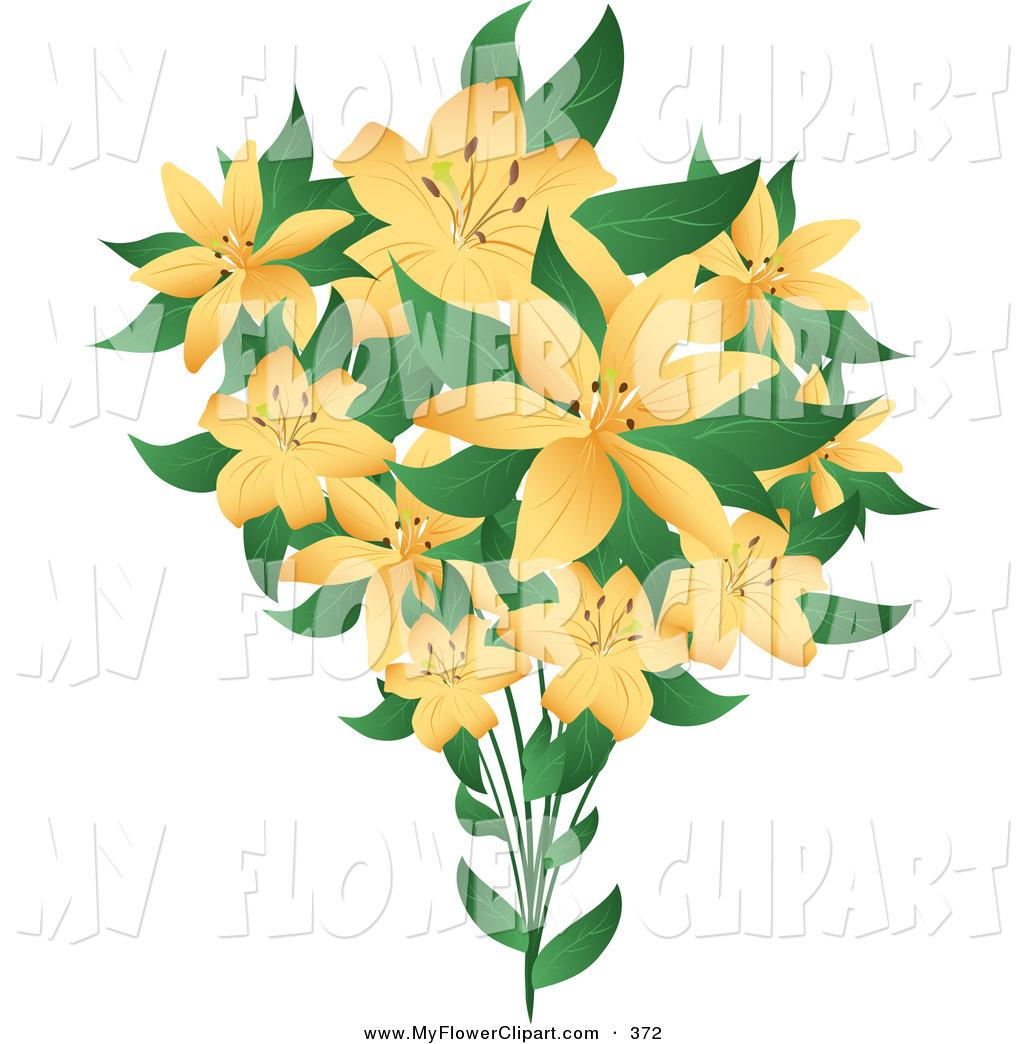 Bouquet clipart march flower Clip Download Art Clipart Orange