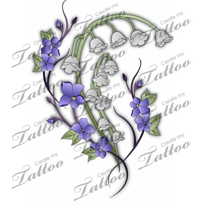 Lily Of The Valley clipart foot Valley of lily Marketplace of