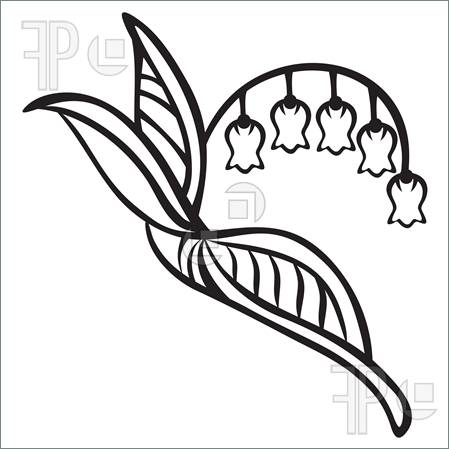 Lily Of The Valley clipart foot Pinterest Ink images tattoos Pinterest