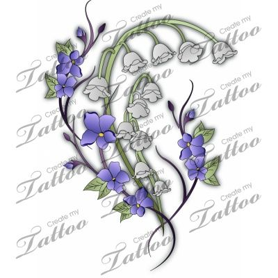 Lily Of The Valley clipart meaning Of Tattoo Ink  /