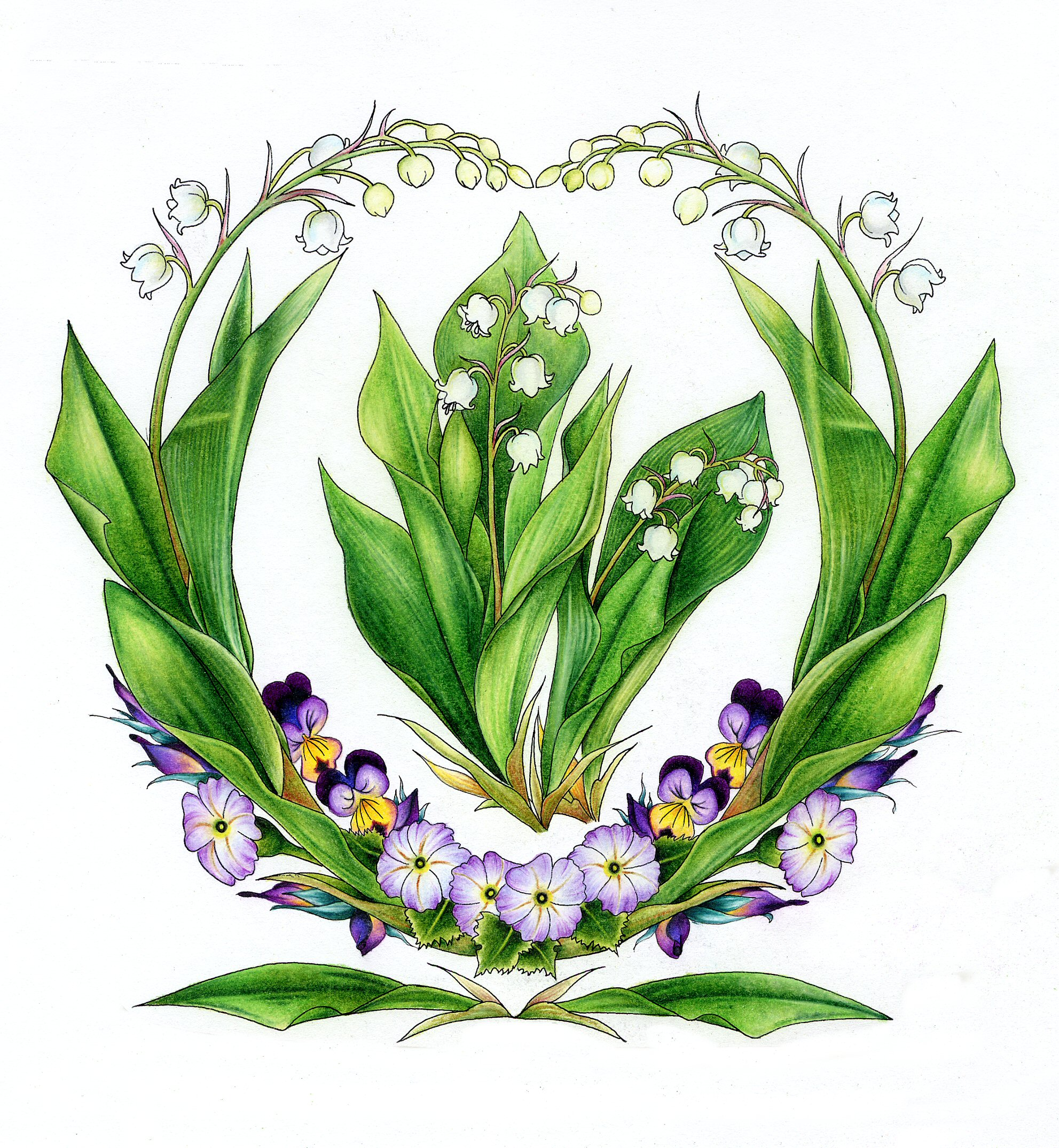 Lily Of The Valley clipart meaning » Fantasy – Fairy Aimee
