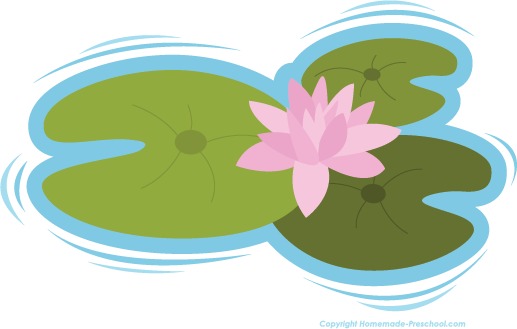 Lily Pad clipart Art image lily pad on