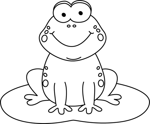 Toad clipart frog lily pad #15