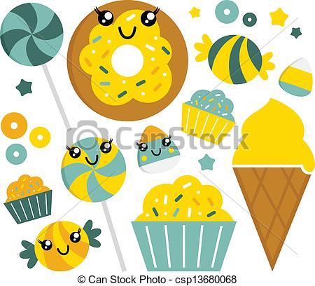 Mint clipart cartoon Csp13680068 mint Cute sweet Art