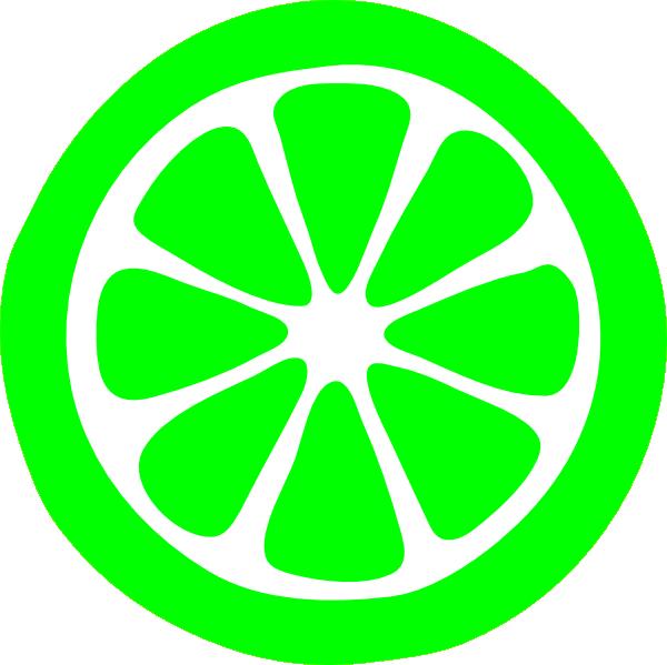 Lime clipart green lemon Vector  image at Slice