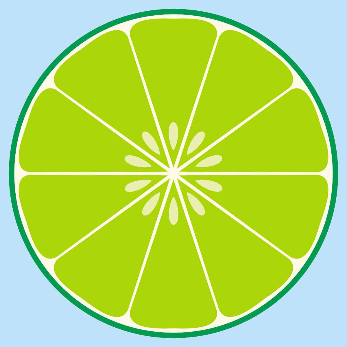 Lime clipart lime slice Clip Mini the Key First