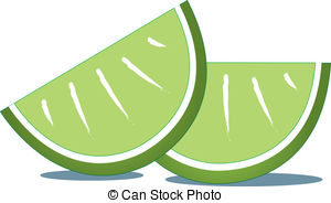 Lime clipart lime slice Of of Slices a Lime