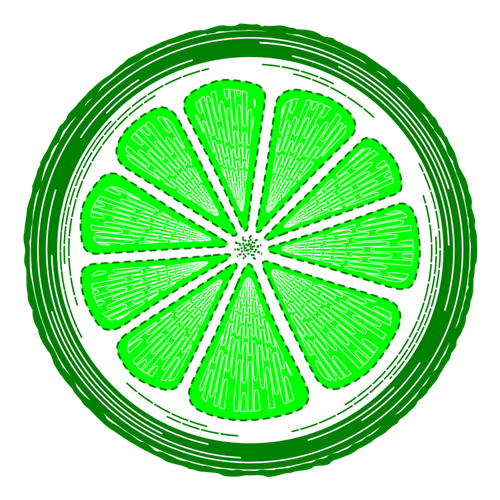 Lime clipart lime slice Slice on Domain your your