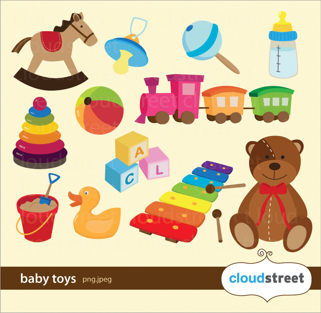 Baby clipart baby toy Images Clipart Collection of Toys