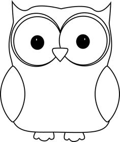Owlet clipart black and white Owls Image White and Image