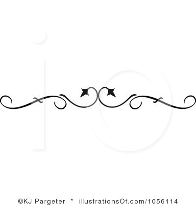 Ornamental clipart single line border Border Images Art Free Free