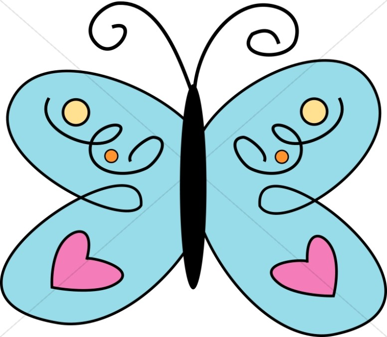 Line Art clipart butterfly Pink Butterfly Blue Butterfly Images