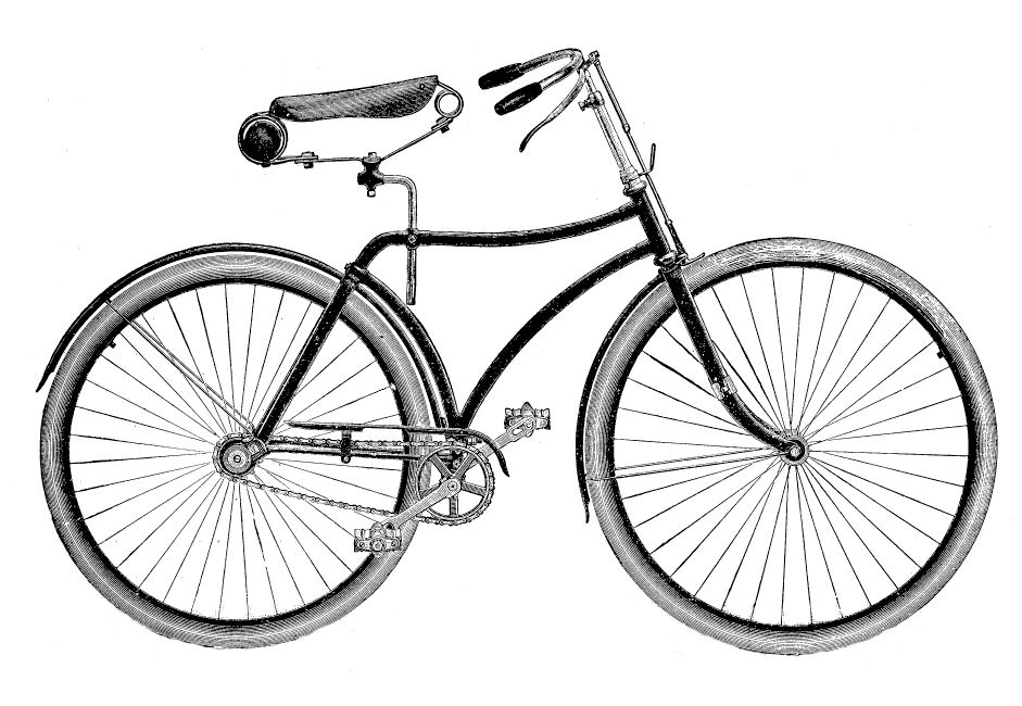 Bicycle clipart line drawing Black Free Images bike%20clipart Clipart