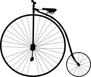 Bicycle clipart old fashioned 25+ art ideas clip on
