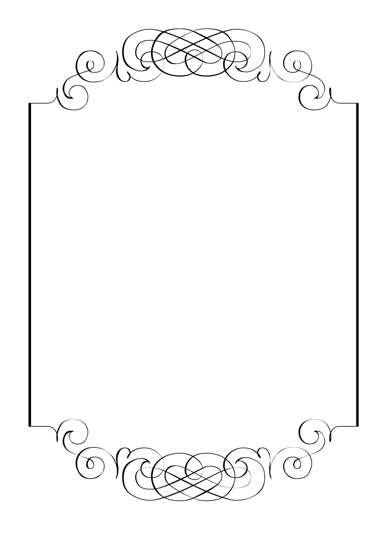 Elegance  clipart vintage wedding dress Borders frames Free and clip