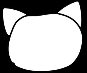 Line Art clipart cat head Art Cat Cat Head