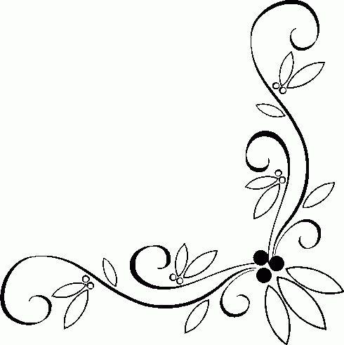Decoration clipart simple page corner Clip scroll clip clip