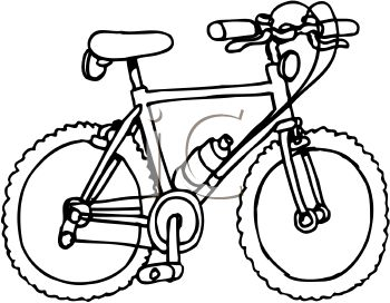 Bike clipart black and white Clip dayasrionl clipart white clipartwiz