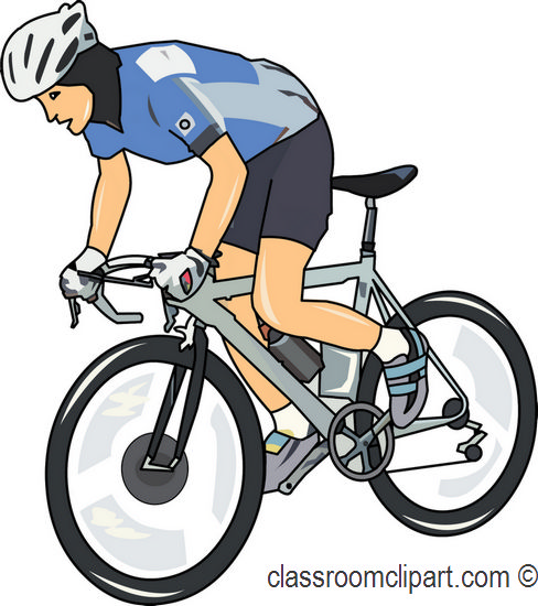 Biker clipart bicyclist Cycling Bay Clip Clipart Art