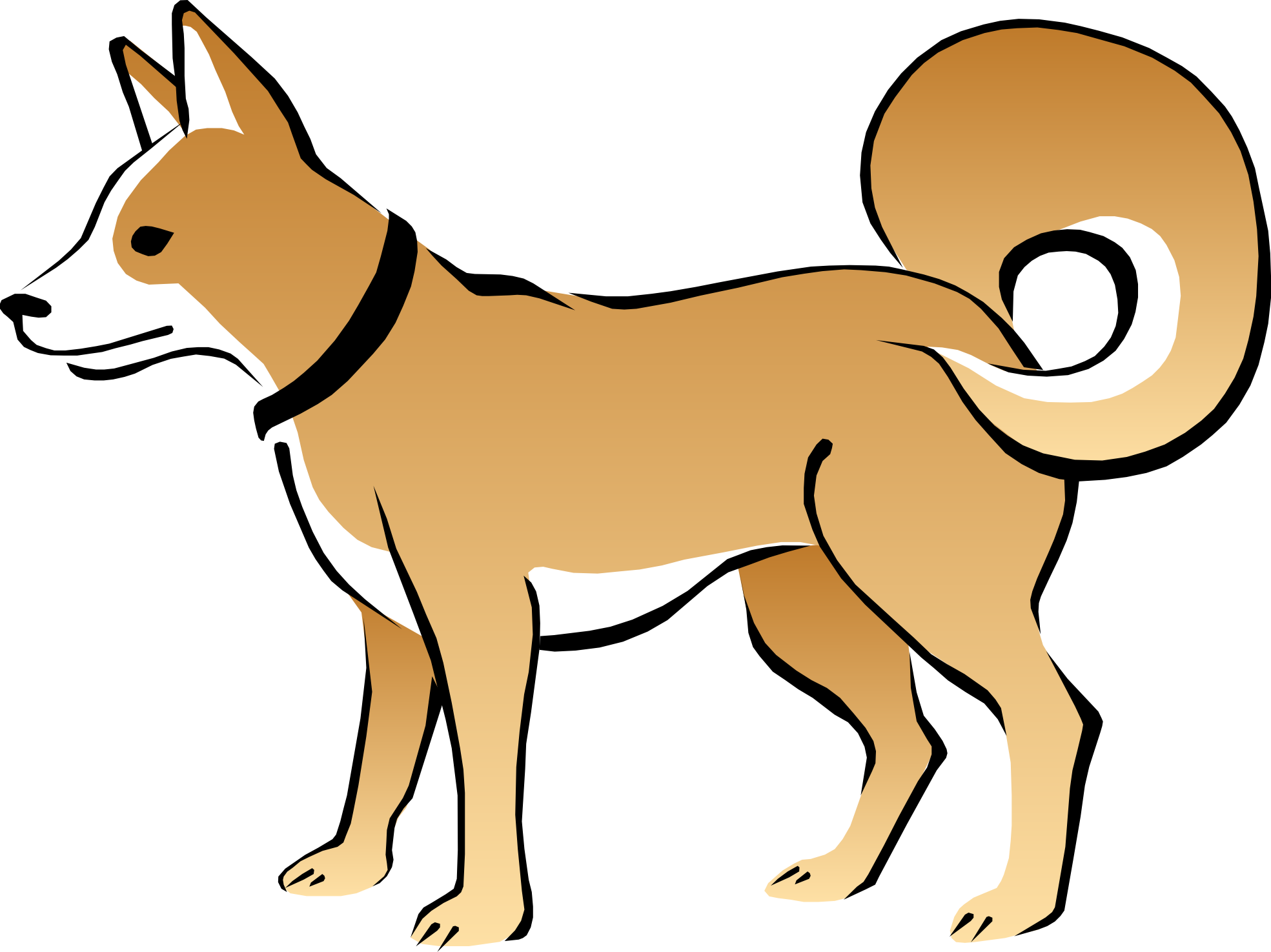 Pice clipart dog #12
