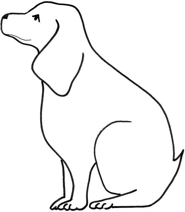 Line Art clipart dog Images Free Clipart Clip Panda