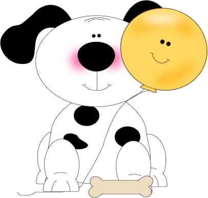 Smiley clipart dog Spotted Art with a Dog