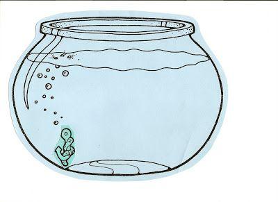 Line Art clipart fish bowl Clipart clip sheet clipart art