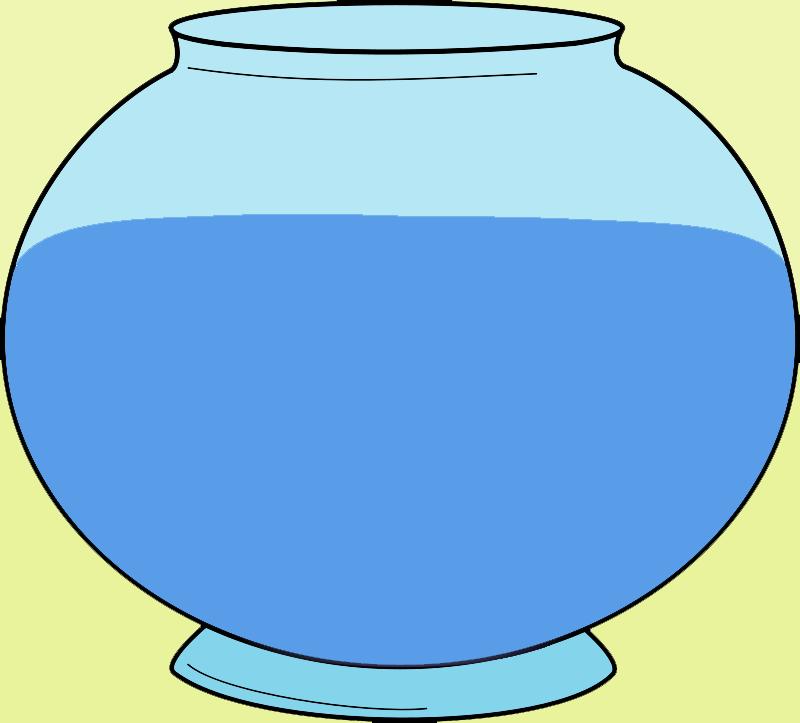 Line Art clipart fish bowl Bowl Art Images Clip