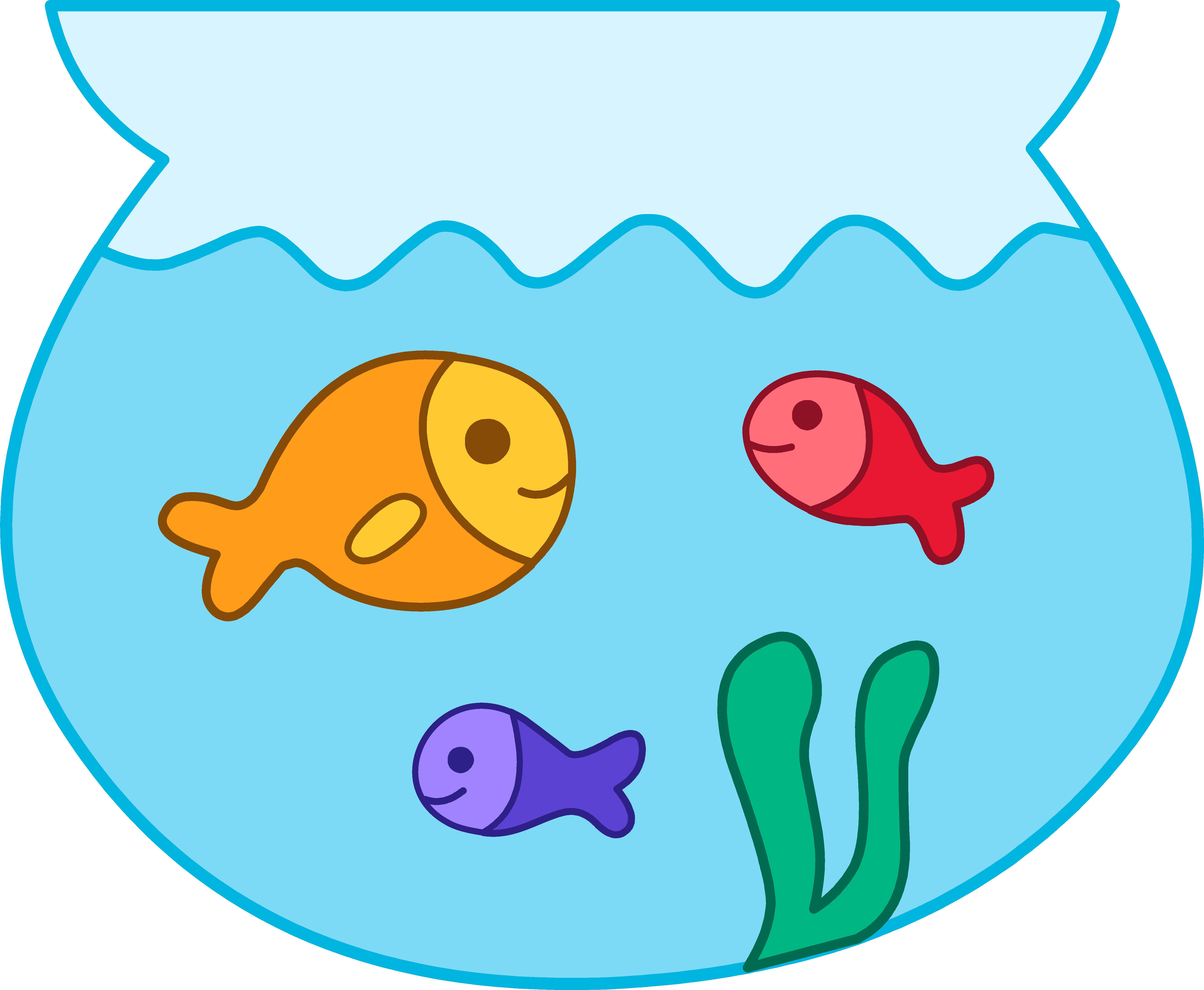 Line Art clipart fish bowl Bowl art download clipart Fishbowl
