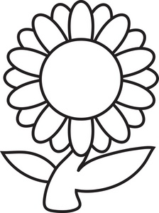 Plant clipart colouring And  Art Flower Free