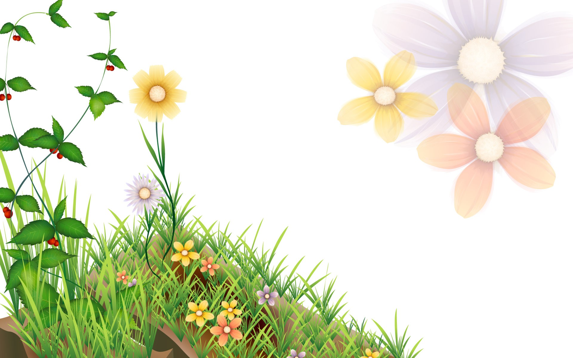 Nature clipart spring time Spring wallpapers desktop wallpaper hd