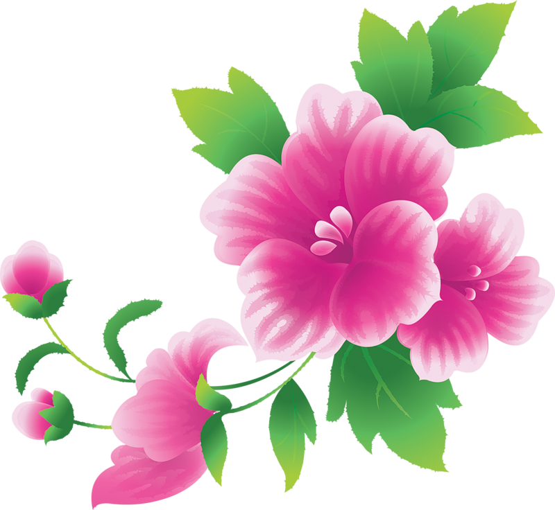 Line Art clipart flower wallpaper Furniture ImagesArt Pics PinkFlower Art