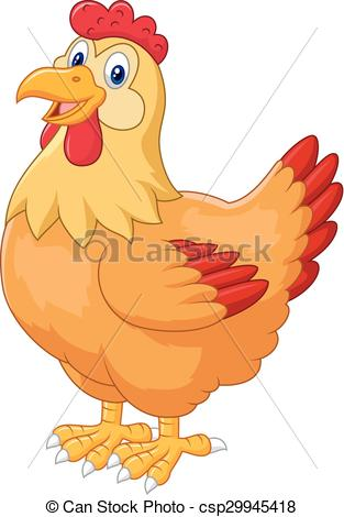 Line Art clipart hen Chicken hen vector hen