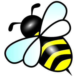 Bee clipart vector Art bee Stencils Pinterest Clip