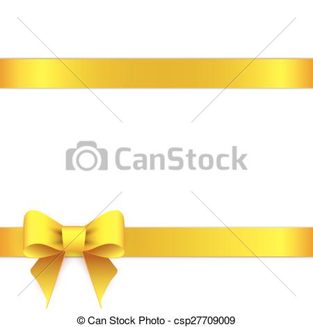 Line Art clipart horizontal border Vector of border ribbon bow