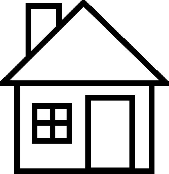 White clipart houseblack Free Images Panda house Art