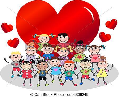Celebration clipart valentine's day Kids Valentines Valentines 05 Kids