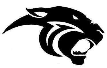 Panther clipart logo #1