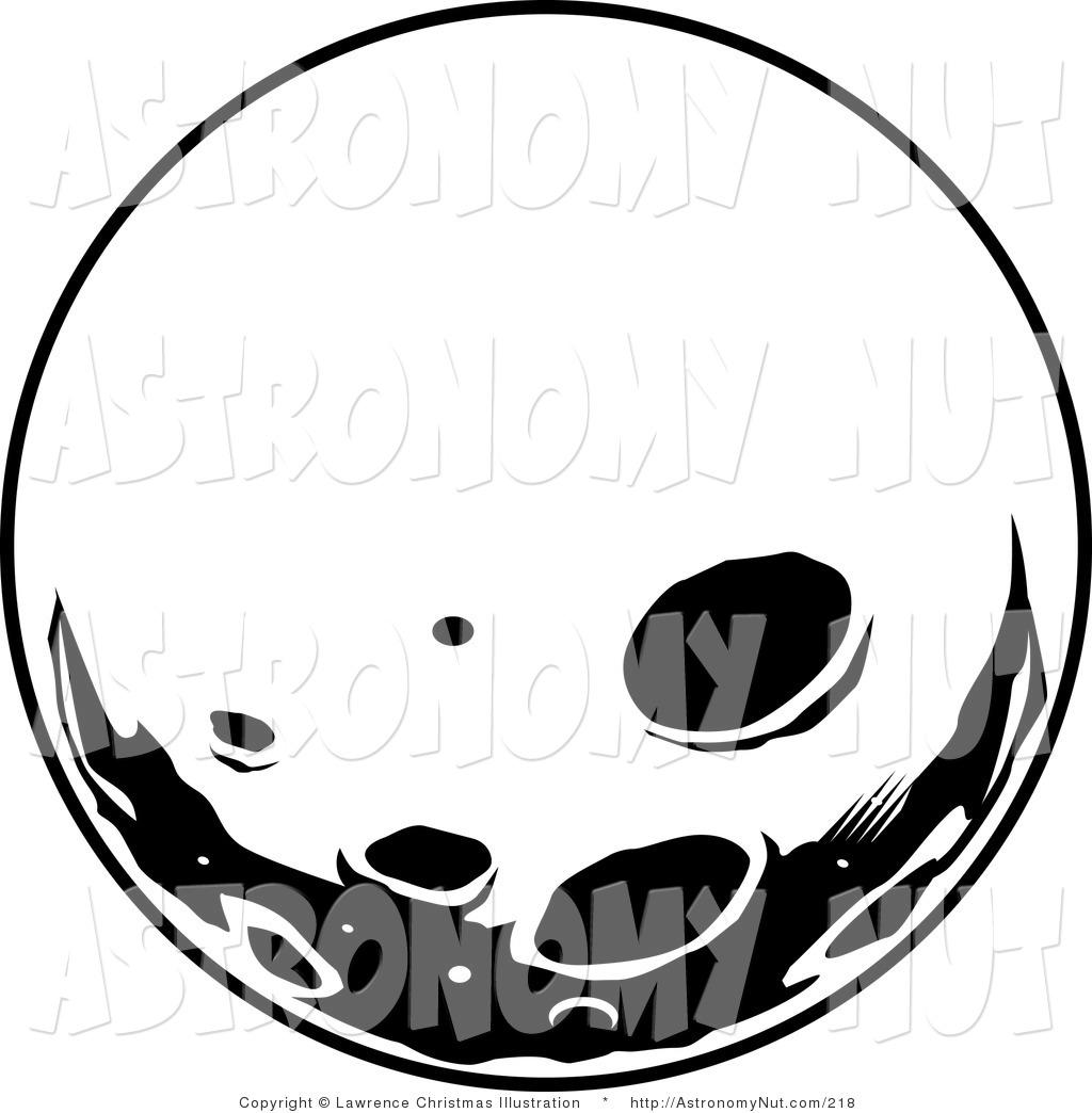 Lunar clipart black n white Moon Clipart Images Panda Images