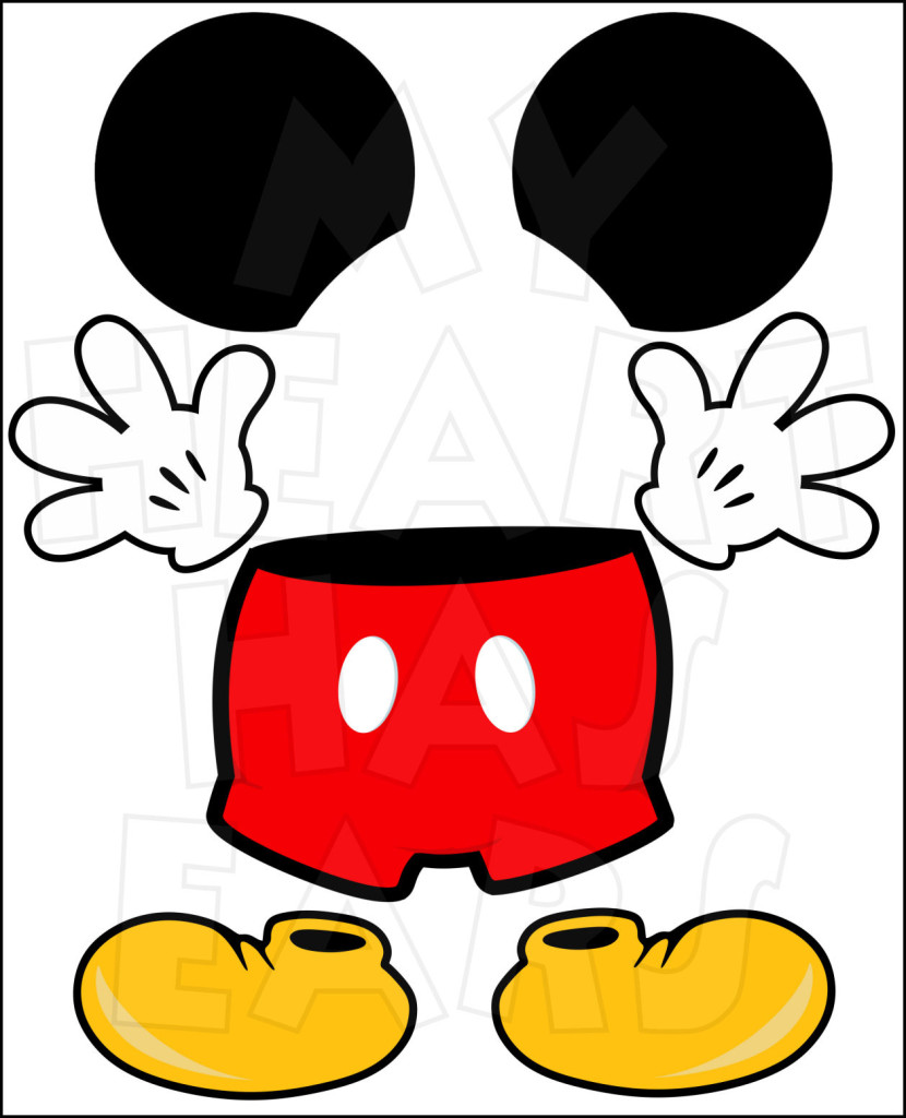 Mouse clipart printable #2