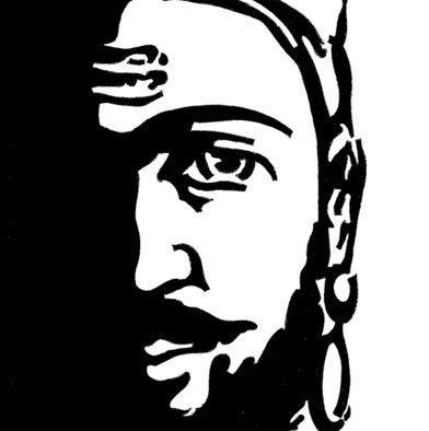 Line Art clipart shivaji maharaj Shivaji Google silhouette  Abstract