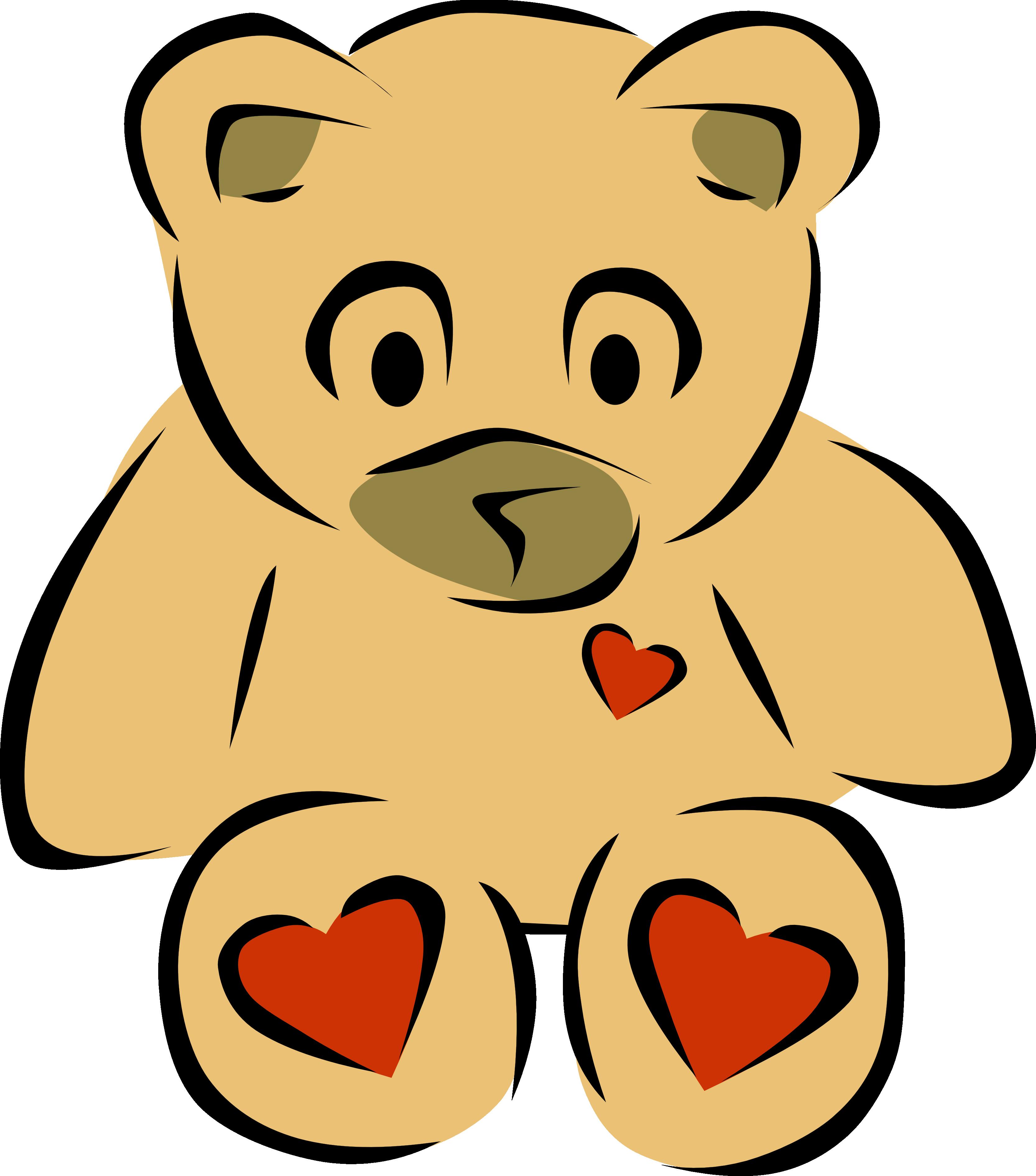 Teddy clipart line art 2 xmas art christmas teddy