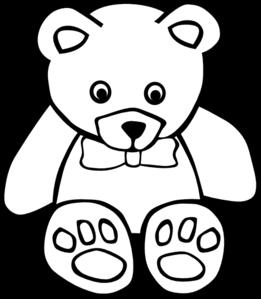 Teddy clipart outline Clipart Clip Teddy Clipart Images