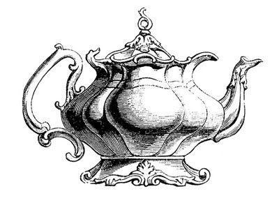 Mauve clipart teapot Teapot Vintage Clip ideas clip