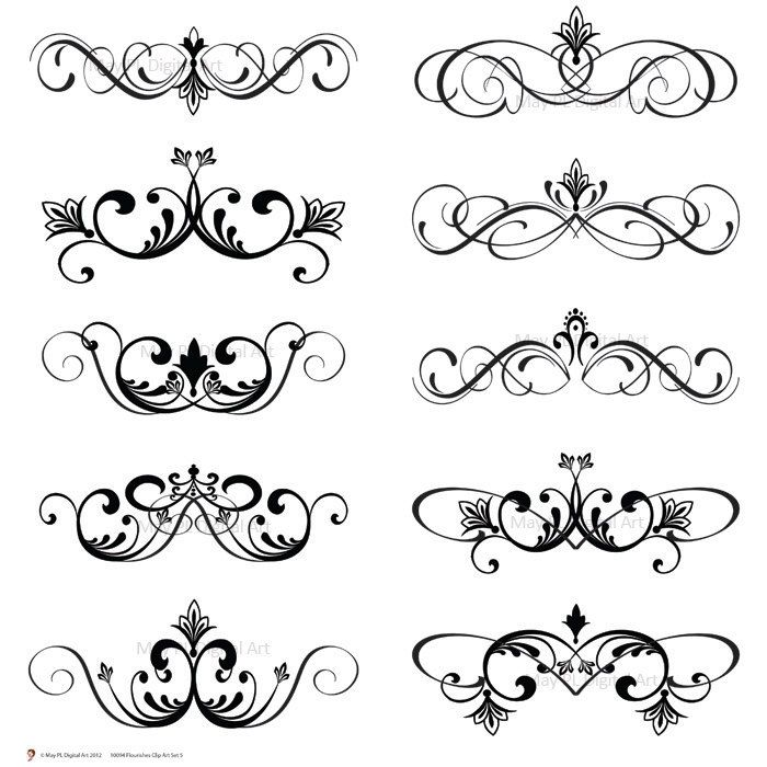 Curl clipart cartoon On Clip clipart BBCpersian7 Wedding