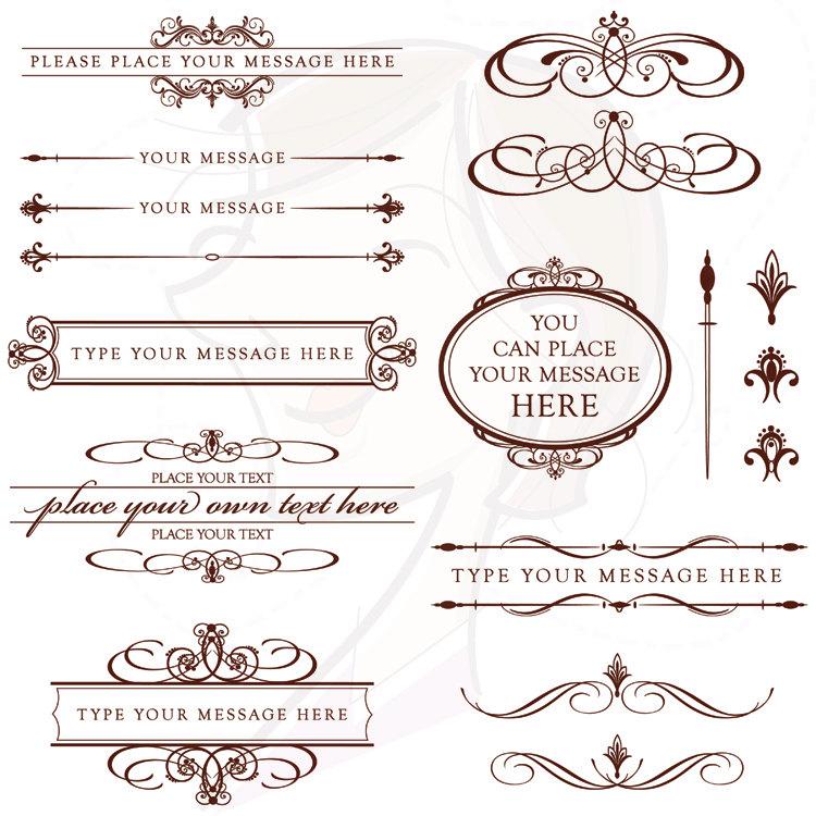 Calligraphy clipart wedding invitation Invitation Wedding Wedding Sunshinebizsolutions Clip