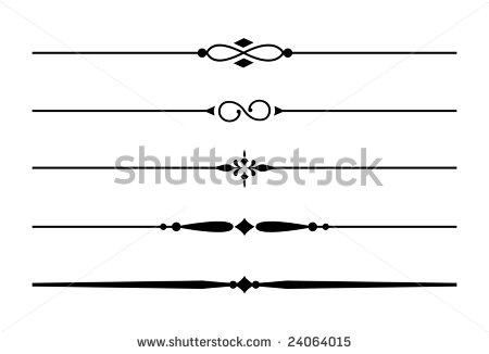 Line clipart accent  best – Clipart vector