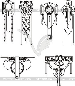 Line clipart art nouveau For > > Art Art